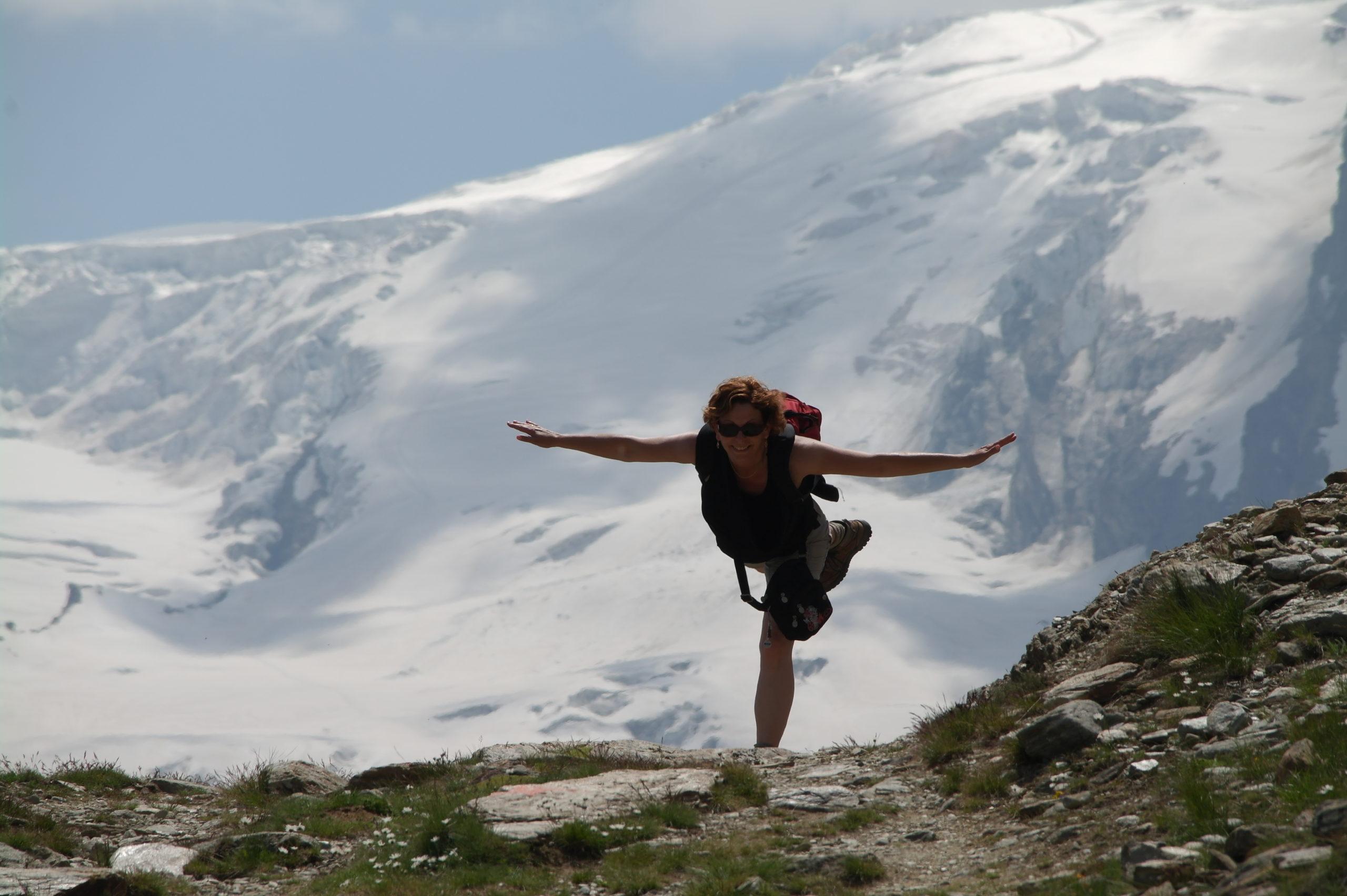 Qigong in de bergen